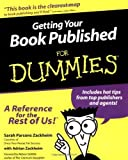 img - for Getting Your Book Published for Dummies by Sarah Parsons Zackheim (2000-07-17) book / textbook / text book