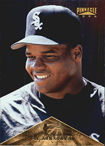 - 1996 Pinnacle Foil #395 Frank Thomas CL -
