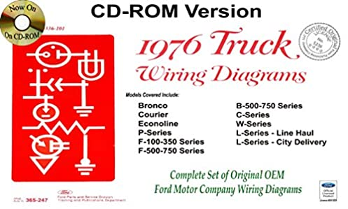 1976 ford truck wiring diagrams ford motor company 9781603712095 rh amazon com 1982 Ford Courier Ford Truck Wiring Diagrams