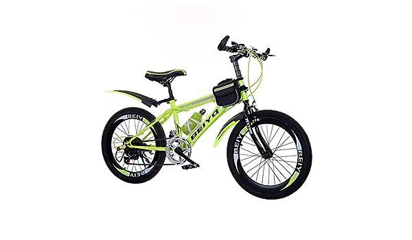 VANYA Niños Bicicleta Plegable Bicicleta de montaña 20/22 Pulgadas ...