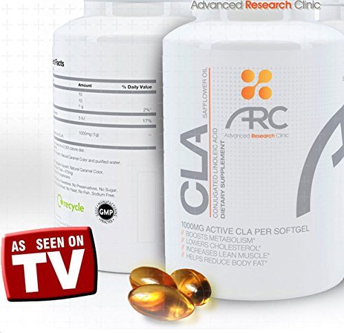 ★ PREMIUM Conjugated Linoleic Acid ★ 1000mg BEST CLA SUPPLEMENT Diet Pill ★ Weight Loss for Men & Women ★ Lose Belly Fat ★Appetite Suppressant ★ Build Lean Muscle ★ Lifetime Guarantee!