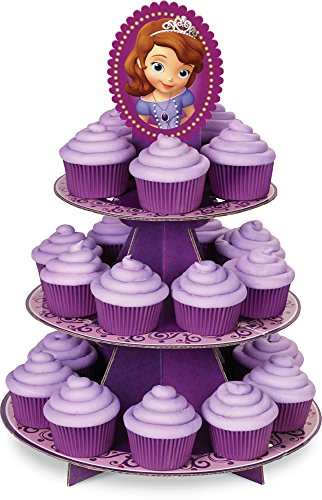 Disney Belle Cardboard Stand - Wilton 1512-1664 Sofia The First Cupcake Stand
