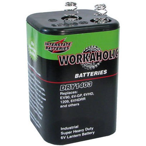 6v Heavy Duty Lantern Battery - 5