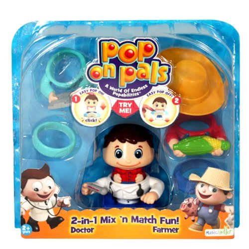 Pop On Pals - Figure Farmer / Doctor by Pop Pals