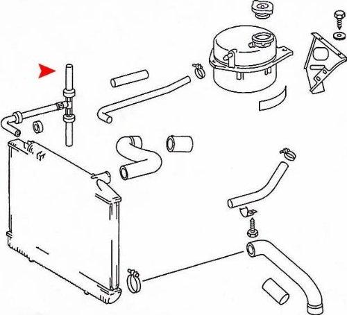 URO Parts 1165013482 Radiator Hose