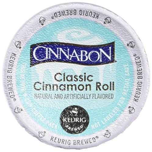 Cinnabon Classic Cinnamon Roll Coffee, 3.9 Ounce (1 Pack, 12 Count)