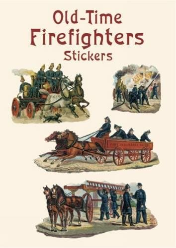 Download Old-Time Firefighters Stickers (Dover Stickers) pdf epub