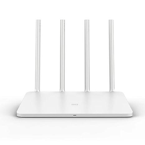 Xiaomi Router 3C, Ollivan Mi Router Dual band Inalámbrico Wifi Router 4 Antenas N300 Mbps