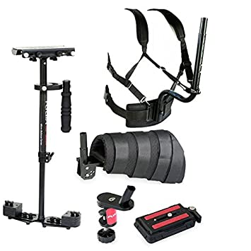 FLYCAM HD-3000 Steadycam Stabilizer with Arm Brace Body Support for DSLR DV Canon Sony Nikon Panasonic Camera Video Film Shooting (FLCM-HD-3-BPAB) General Purpose Batteries & Battery Chargers at amazon