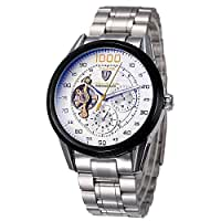 TEVISE Automatic Men Mechanical Watch Luminous 3ATM Water-resistant Watch