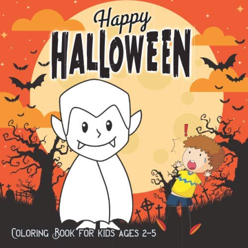 Peanuts Coloring Pages (Halloween Coloring Books for Kids ages 2-5: A Spooky Coloring Book For Creative Children pumpkins design (halloween coloring pages for)