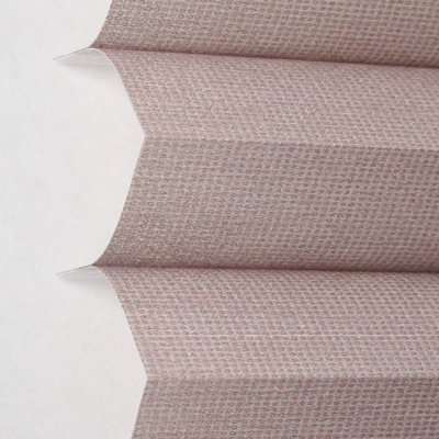 Comfortex Pleated Shades - CUSTOM MADE Comfortex Pleated Shades, Comfortex Pleated Shades, 60W x 48H, Stone Walk