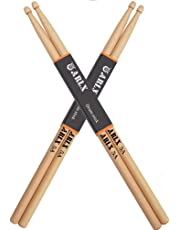 ARLX Drum Sticks 5A Wood Tip Drumstick, Maple, 2 Pair