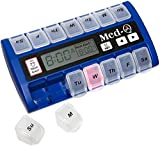 MED-Q Digital Pill Box, Single Beep Alarm and LED Alert