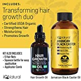 Jamaican Black Castor Oil for Hair Growth and Skin