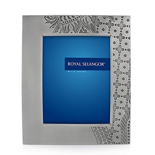 Royal Selangor Hand Finished Ku Collection Pewter Wayang Kulit Photo Frame (8R) by Royal Selangor