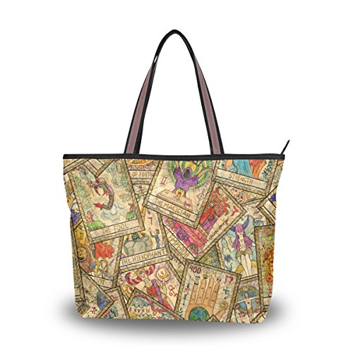 Tote Bag Cards Tarot Vintage Handbag Shoulder MyDaily Women wSq5ctv1
