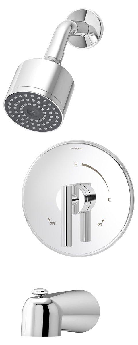 Symmons S-3502-CYL-B Dia Tub/Shower System, Chrome - - Amazon.com