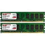 Komputerbay 2GB 2X 1GB DDR2 533MHz PC2-4200 PC2-4300 DDR2 533 (240 PIN) DIMM Desktop Memory CL 4