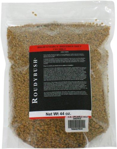 Roudybush High Energy Breeder Bird Food, Crumbles, 44-Ounce, My Pet Supplies