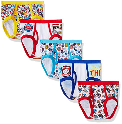 Thomas the Train Little Boys' Friends 5pk Underwear, Assorted, 6