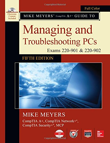 Mike Meyers'comptia..Trouble.Pcs W/Cd