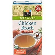 365 Everyday Value, Organic Low Sodium Chicken Broth , 32 oz