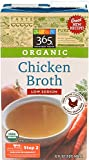 365 Everyday Value, Organic Low Sodium Chicken Broth , 32 oz
