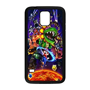 Personalised Phone case super mario For Samsung Galaxy S5 S1T3858