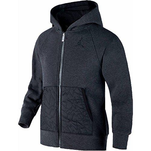 Jordan Boys Youth AJ VII Full-Zip Hoodie Jacket Size Medium M (10-12) -
