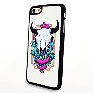 Generic Phone Accessories Matte Hard Plastic Phone Cases Cartoon Animal Horn fit for Iphone 6