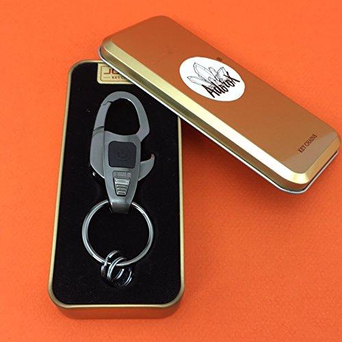 adorox multifunctional led flashlight key chain bottle opener key ring zinc alloy keychain. Black Bedroom Furniture Sets. Home Design Ideas