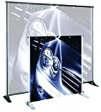 Banner Stand Classic (for Large Format Graphics) Width: 48-96'', Color: Silver