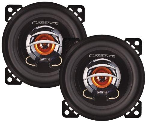 Super Slim Two Way Speakers - Cadence Acoustics XS452 4-Inch 100 Watt Peak 2-Way Speaker System