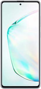 Samsung Galaxy Note 10 Lite N770F 128GB Dual-SIM GSM Unlocked Phone (International Variant/US Compatible LTE) - Aura Glow