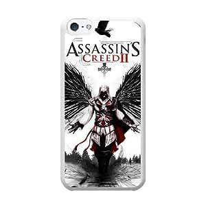 Ezio Auditore da Firenze S2I3QU6P Caso funda iPhone 5c Caso funda del teléfono celular blanco