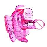 Annyel Butterfly Vibrator Strap On G-Spot Massager Wireless Control Vibrating Sex Toy