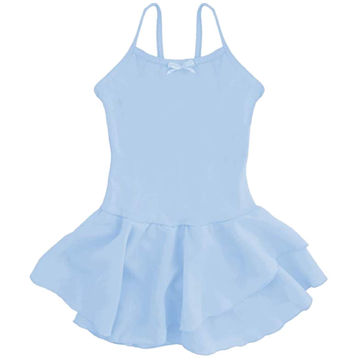 Dancina SHIRT ガールズ B07D4G6CV8 5|ライトブルー ライトブルー 5
