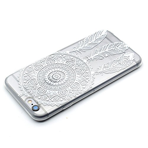 "HYAIT® For IPHONE 6 4.7"" [XXG 17V3]Scratch-Proof Ultra Thin Rubber Gel TPU Soft Silicone Bumper Case Cover -BKI01"
