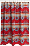 Carstens Red Branch Shower Curtain