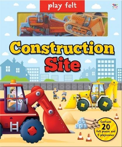 Play Felt Construction Site (Soft Felt Play - Site Oakley