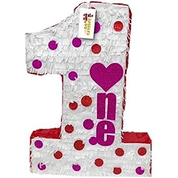 Amazon.com: Día de San Valentín color blanco número uno ...