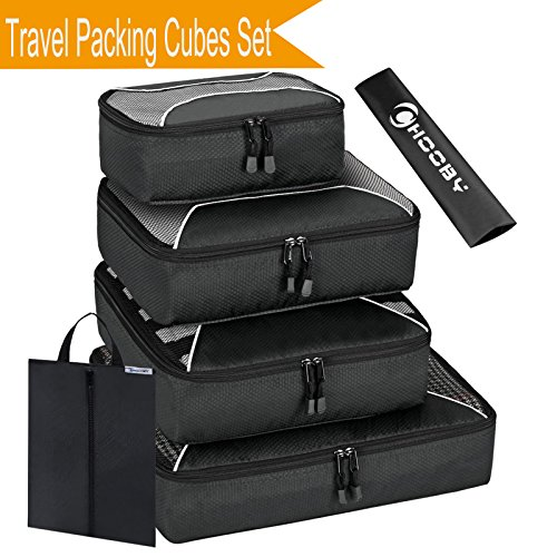 Packing Cubes Travel Set, Travel Accessories Organizers