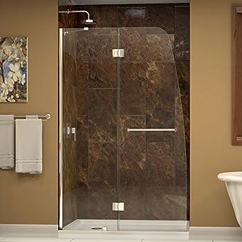 Dreamline Aqua 45 7 8 In Width Frameless Hinged Shower