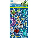Monsters University Stickers, 4 sheets by Sandylion
