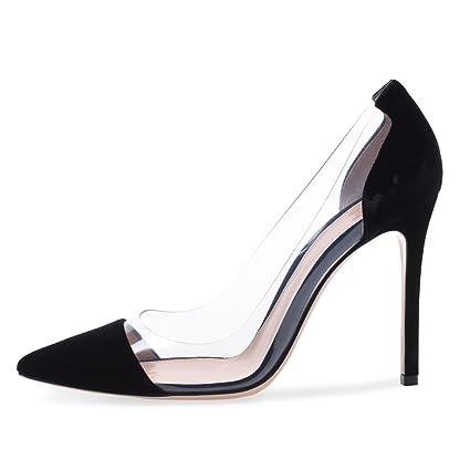 a92b121f gao Stilettos De Gamuza Para Mujer Zapatos Simples Hechos A Mano Simples  Ocasionales De Las Mujeres