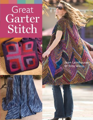 Great Garter Stitch by Jean Leinhauser (2008-08-05) (Zebra Garter)