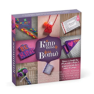 Craft-tastic – Kindness Kit – Craft Kit Includes 8 Projects to Inspire Kindness, Bilingual: Toys & Games