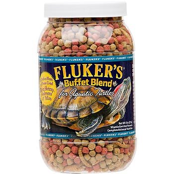 Fluker's Buffet Blend Aquatic Turtle Formula for Pets, 7.5-Ounce
