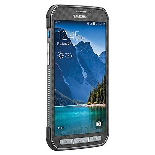 Samsung Galaxy S5 Active G870A 16GB Titanium Gray - Unlocked GSM (Certified Refurbished)